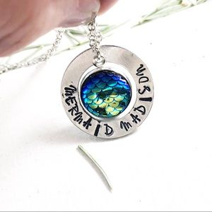 Jewelry - Personalized Mermaid Necklace
